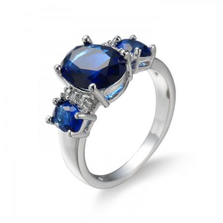 Alloy Stone Ring