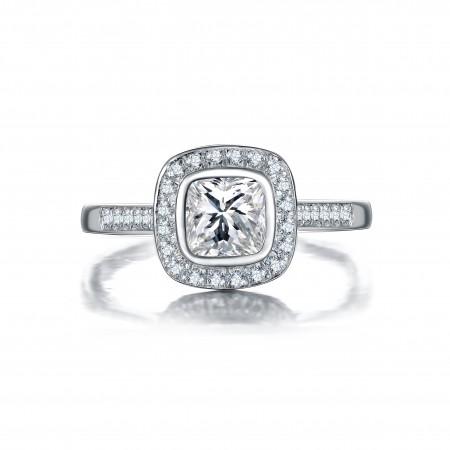Korean Style Bestsellers 925 Sterling Silver Engagement Ring