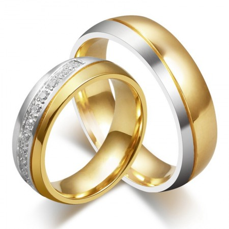 Europe Hot Sale Romantic Gift Couple Rings