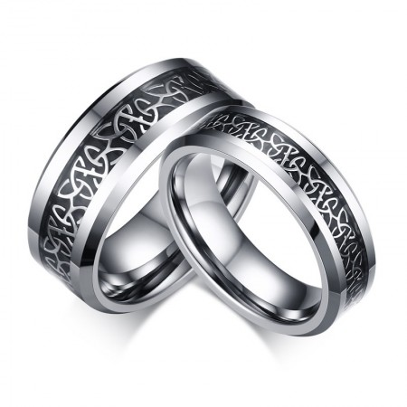 Europe Hot Sale Tungsten Steel Couple Ring
