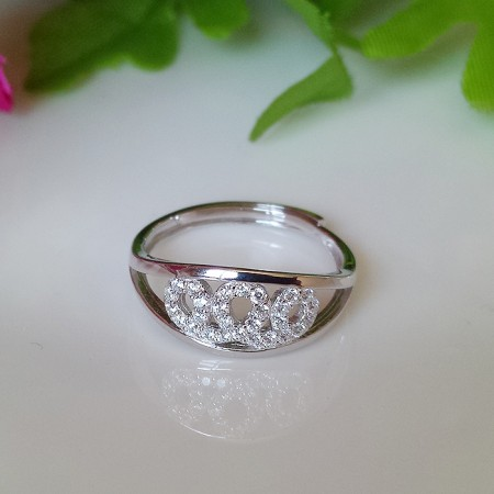 Hypoallergenic Fashion Gift 925 Silver Crown Ring
