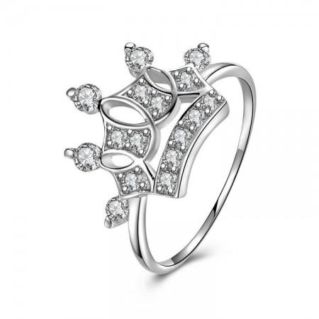 New Simple Atmospheric Hot Sale 925 Sterling Silver Crown Ring