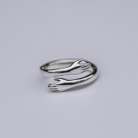 Original Design 925 Sterling Silver Opening Creative Personality Ring