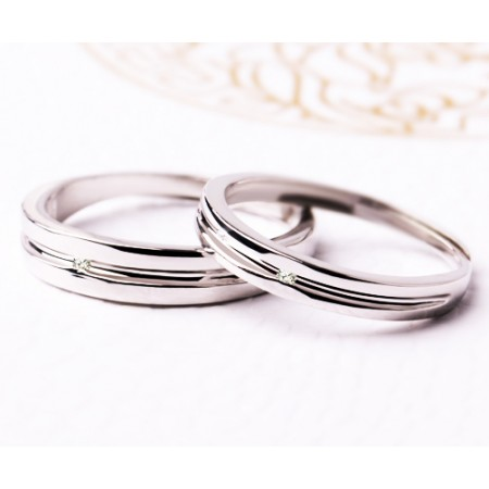Original Design The Fetters Of Love Sterling Silver Lovers Couple Rings