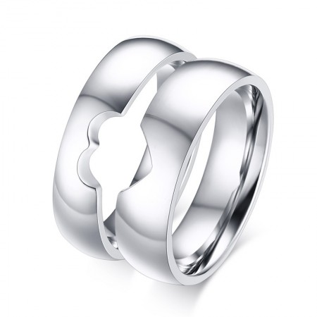 New Creative Sweet Love Puzzle Couple Rings