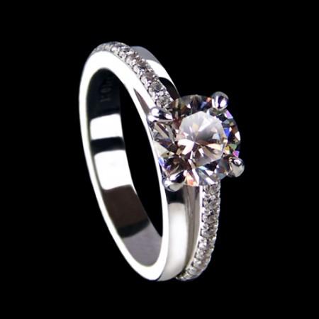 High End Jewelry Diamond Engagement Wedding Ring