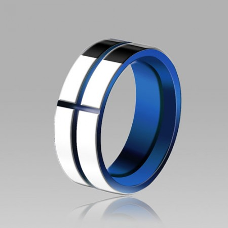 Simple Tungsten Men's Ring