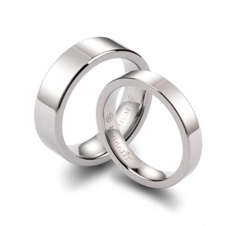 Original Minimalist Couple Rings