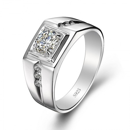 Men'S 925 Silver Ring