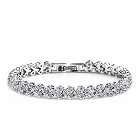 Charming Stylish Simplicity Austria Crystal Bracelet