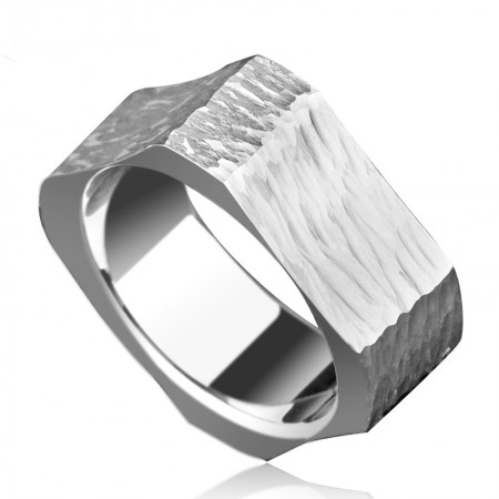 Personality Male Quartet Tungsten Ring