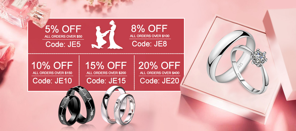 Jewinston Jewelry Discount Code, Coupon code, Deals, Coupons